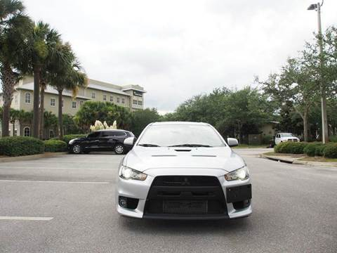 2013 Mitsubishi Lancer Evolution for sale at Gulf Financial Solutions Inc DBA GFS Autos in Panama City Beach FL