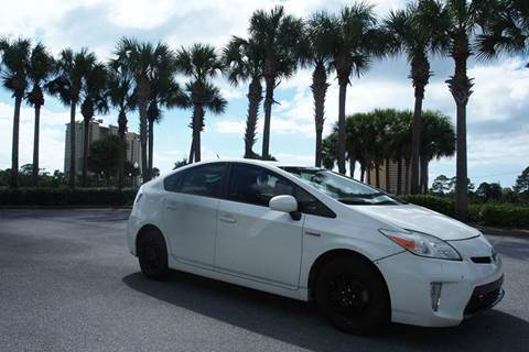 2012 Toyota Prius for sale at Gulf Financial Solutions Inc DBA GFS Autos in Panama City Beach FL