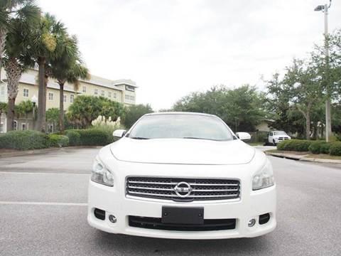 2011 Nissan Maxima for sale at Gulf Financial Solutions Inc DBA GFS Autos in Panama City Beach FL