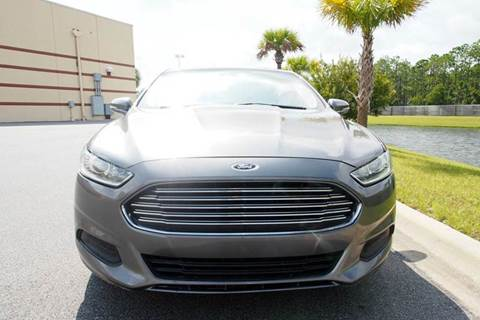 2013 Ford Fusion for sale at Gulf Financial Solutions Inc DBA GFS Autos in Panama City Beach FL