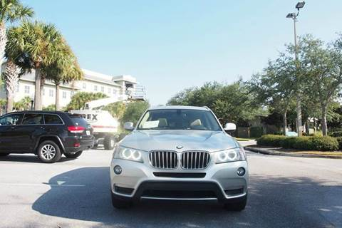 2011 BMW X3 for sale at Gulf Financial Solutions Inc DBA GFS Autos in Panama City Beach FL