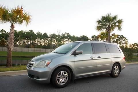 2007 Honda Odyssey for sale at Gulf Financial Solutions Inc DBA GFS Autos in Panama City Beach FL