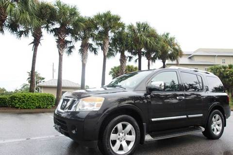 2010 Nissan Armada for sale at Gulf Financial Solutions Inc DBA GFS Autos in Panama City Beach FL