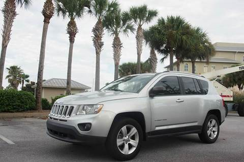 2012 Jeep Compass for sale at Gulf Financial Solutions Inc DBA GFS Autos in Panama City Beach FL