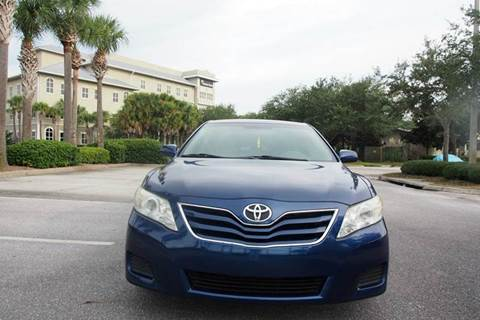 2010 Toyota Camry for sale at Gulf Financial Solutions Inc DBA GFS Autos in Panama City Beach FL