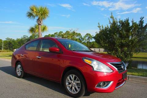 2015 Nissan Versa for sale at Gulf Financial Solutions Inc DBA GFS Autos in Panama City Beach FL