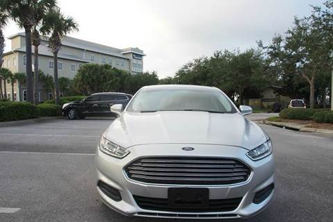 2016 Ford Fusion for sale at Gulf Financial Solutions Inc DBA GFS Autos in Panama City Beach FL