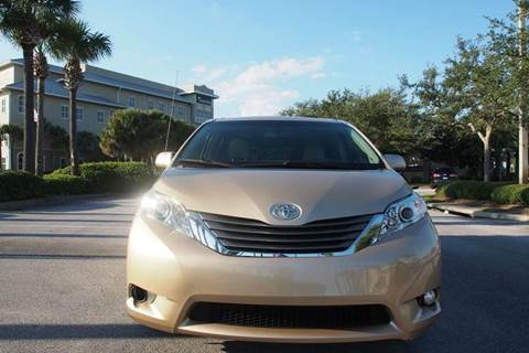 2011 Toyota Sienna for sale at Gulf Financial Solutions Inc DBA GFS Autos in Panama City Beach FL