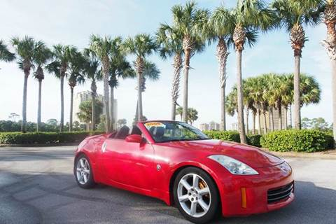 2008 Nissan 350Z for sale at Gulf Financial Solutions Inc DBA GFS Autos in Panama City Beach FL
