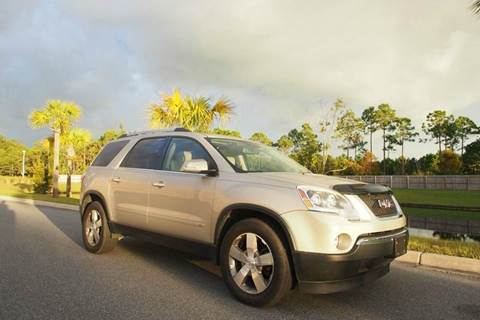 2010 GMC Acadia for sale at Gulf Financial Solutions Inc DBA GFS Autos in Panama City Beach FL