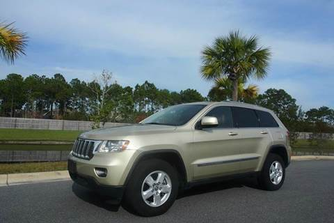 2012 Jeep Grand Cherokee for sale at Gulf Financial Solutions Inc DBA GFS Autos in Panama City Beach FL