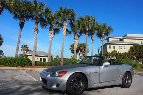 2003 Honda S2000 for sale at Gulf Financial Solutions Inc DBA GFS Autos in Panama City Beach FL