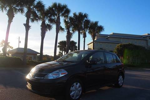 2012 Nissan Versa for sale at Gulf Financial Solutions Inc DBA GFS Autos in Panama City Beach FL