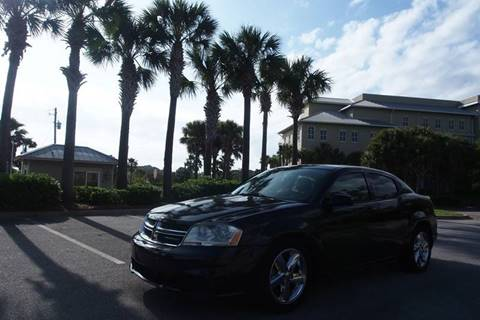2012 Dodge Avenger for sale at Gulf Financial Solutions Inc DBA GFS Autos in Panama City Beach FL
