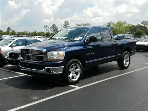2006 Dodge Ram Pickup 1500 for sale at Gulf Financial Solutions Inc DBA GFS Autos in Panama City Beach FL