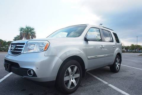 2012 Honda Pilot for sale at Gulf Financial Solutions Inc DBA GFS Autos in Panama City Beach FL
