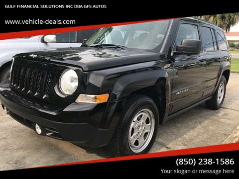 2014 Jeep Patriot for sale at Gulf Financial Solutions Inc DBA GFS Autos in Panama City Beach FL