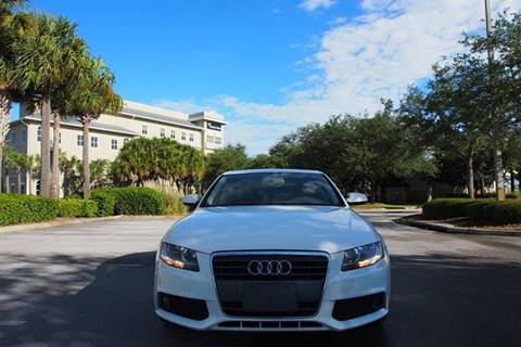 2010 Audi A4 for sale at Gulf Financial Solutions Inc DBA GFS Autos in Panama City Beach FL