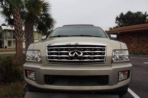 2008 Infiniti QX56 for sale at Gulf Financial Solutions Inc DBA GFS Autos in Panama City Beach FL