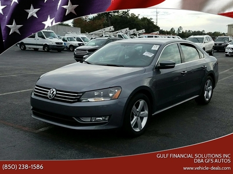 2015 Volkswagen Passat for sale at Gulf Financial Solutions Inc DBA GFS Autos in Panama City Beach FL