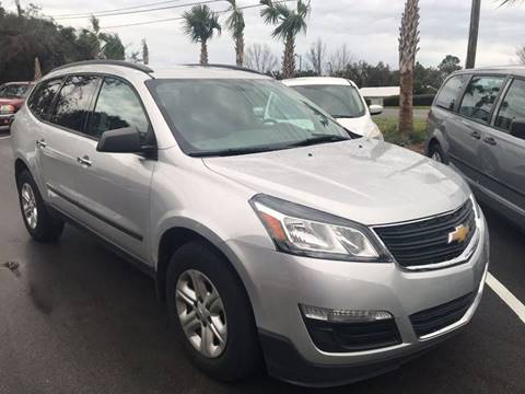 2015 Chevrolet Traverse for sale at Gulf Financial Solutions Inc DBA GFS Autos in Panama City Beach FL