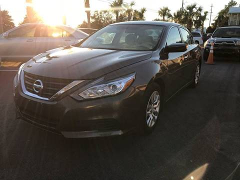 2016 Nissan Altima for sale at Gulf Financial Solutions Inc DBA GFS Autos in Panama City Beach FL