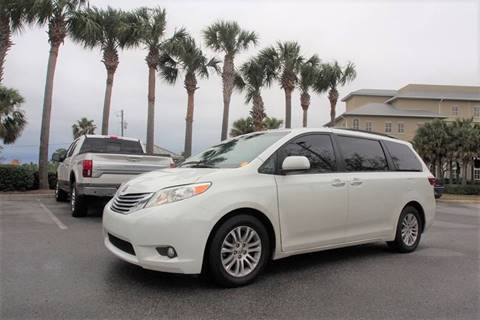 2015 Toyota Sienna for sale at Gulf Financial Solutions Inc DBA GFS Autos in Panama City Beach FL