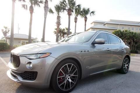 2018 Maserati Levante for sale at Gulf Financial Solutions Inc DBA GFS Autos in Panama City Beach FL
