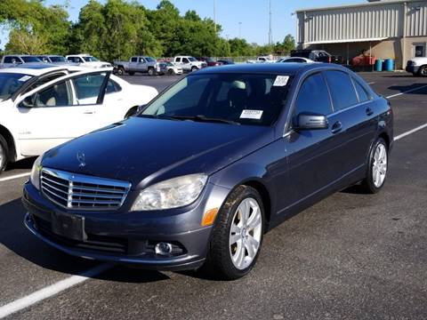 2010 Mercedes-Benz C-Class for sale at Gulf Financial Solutions Inc DBA GFS Autos in Panama City Beach FL