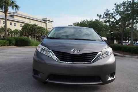 2013 Toyota Sienna for sale at Gulf Financial Solutions Inc DBA GFS Autos in Panama City Beach FL