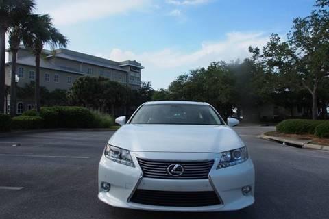 2013 Lexus ES 350 for sale at Gulf Financial Solutions Inc DBA GFS Autos in Panama City Beach FL