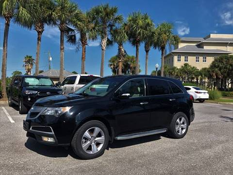 2012 Acura MDX for sale at Gulf Financial Solutions Inc DBA GFS Autos in Panama City Beach FL