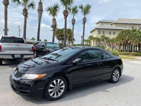 2009 Honda Civic for sale at Gulf Financial Solutions Inc DBA GFS Autos in Panama City Beach FL