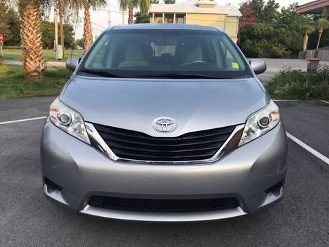 2014 Toyota Sienna for sale at Gulf Financial Solutions Inc DBA GFS Autos in Panama City Beach FL