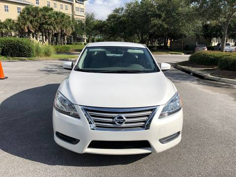 2014 Nissan Sentra for sale at Gulf Financial Solutions Inc DBA GFS Autos in Panama City Beach FL