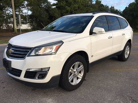 2013 Chevrolet Traverse for sale at Gulf Financial Solutions Inc DBA GFS Autos in Panama City Beach FL
