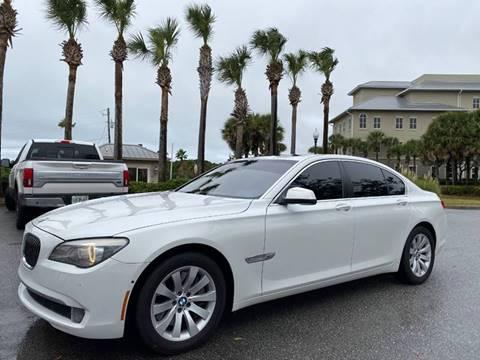 2010 BMW 7 Series for sale at Gulf Financial Solutions Inc DBA GFS Autos in Panama City Beach FL