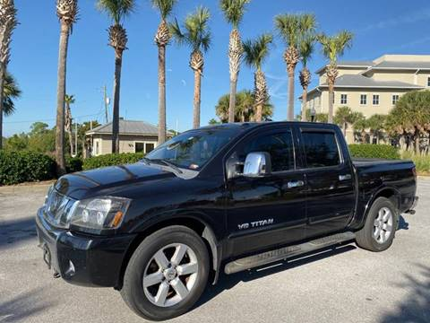2009 Nissan Titan for sale at Gulf Financial Solutions Inc DBA GFS Autos in Panama City Beach FL
