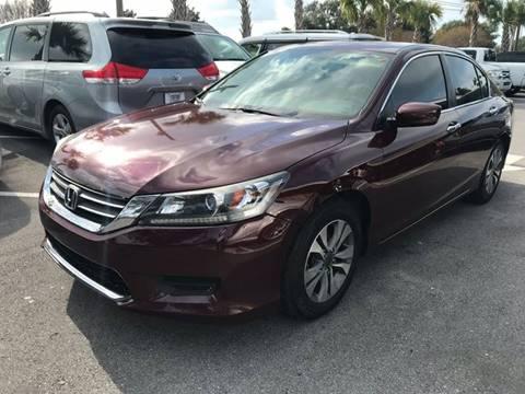 2015 Honda Accord for sale at Gulf Financial Solutions Inc DBA GFS Autos in Panama City Beach FL