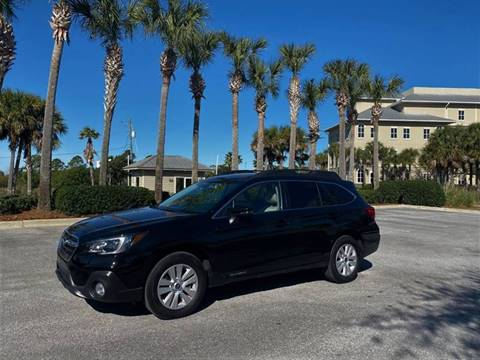 2018 Subaru Outback for sale at Gulf Financial Solutions Inc DBA GFS Autos in Panama City Beach FL