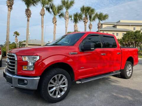 2016 Ford F-150 for sale at Gulf Financial Solutions Inc DBA GFS Autos in Panama City Beach FL