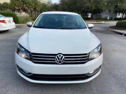 2015 Volkswagen Passat for sale at Gulf Financial Solutions Inc DBA GFS Autos in Panama City Beach FL