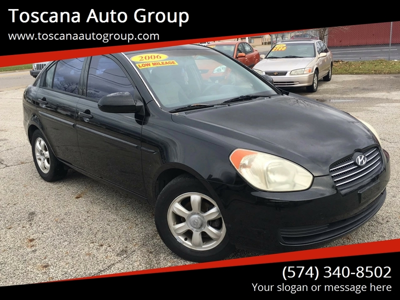 2006 Hyundai Accent GLS 4dr Sedan - Mishawaka IN