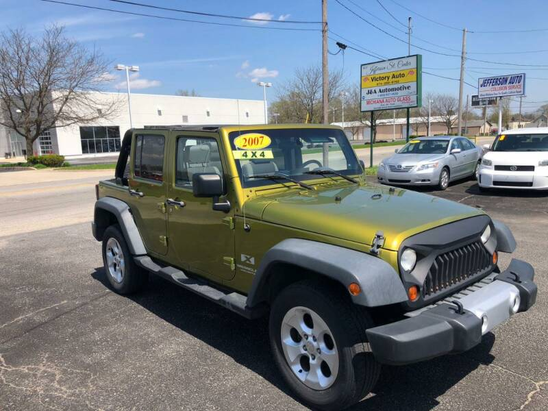 2007 Jeep Wrangler Unlimited 4x4 X 4dr SUV - Mishawaka IN