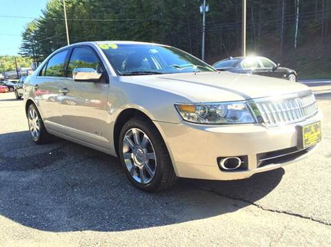 2009 Lincoln MKZ for sale in Belmont, NH
