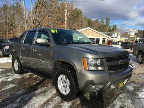 2007 Chevrolet Avalanche for sale in Belmont, NH