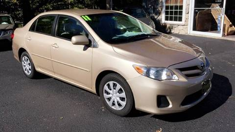 2011 Toyota Corolla for sale in Belmont, NH