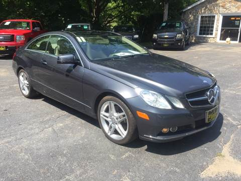 2011 Mercedes-Benz E-Class for sale at Bladecki Auto in Belmont NH