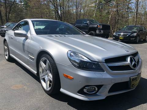2009 Mercedes-Benz SL-Class for sale at Bladecki Auto in Belmont NH