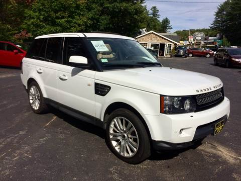 2012 Land Rover Range Rover Sport for sale in Belmont, NH